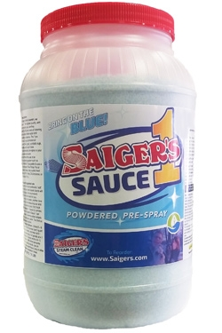 1 Container Of Saigers Sauce 1 Professional Carpet